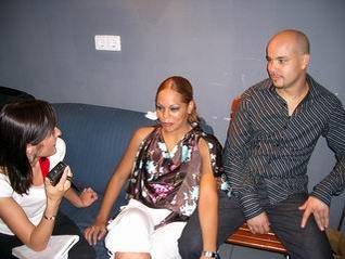 Griselle Ponce and Ismael Otero - Salsa Interview