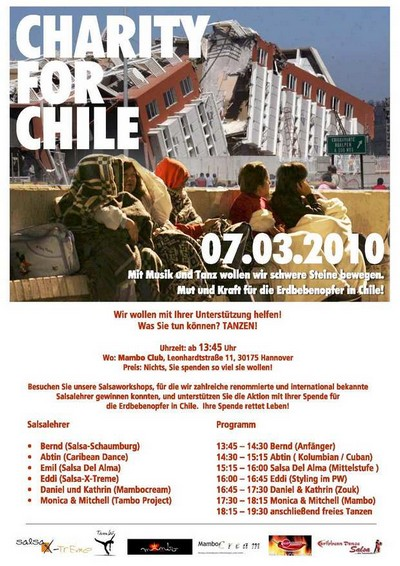 Charity for Chile