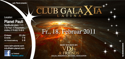 Club Galaxia Latinoa im Planet Pauli in Hamburg